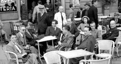 Eugenio Montale al Ceffè delle Giubbe Rosse